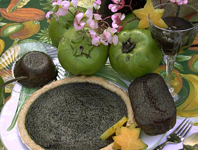 Black Sapote  photo: Lynda LaRocca