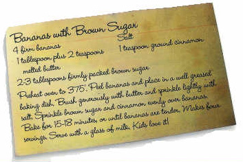 Bananas with Brown Sugar